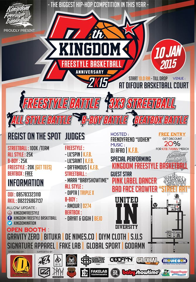 """Kingdom Freestyle Basketball 7th Anniversary """"United In Diversity"""""""