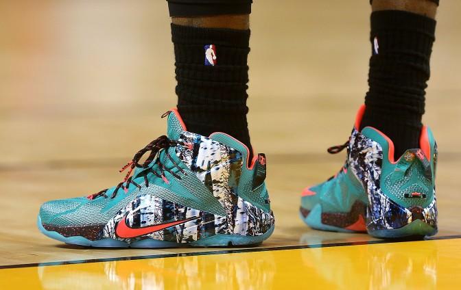 Deretan Sepatu di NBA Christmas
