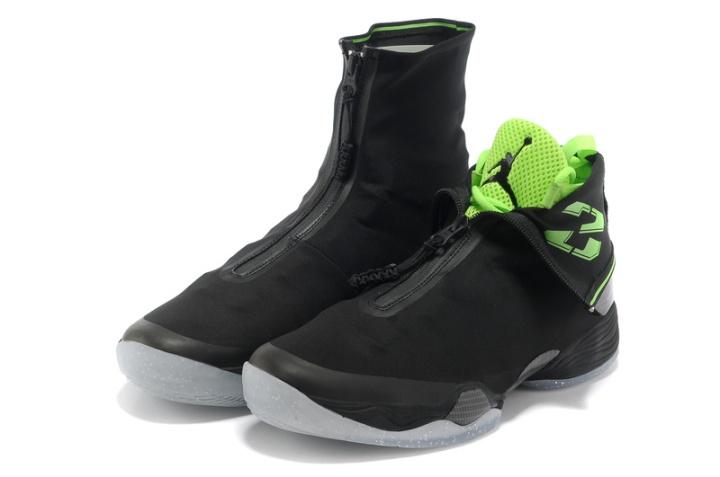 Air Jordan XX8 Black White Electric Green_1