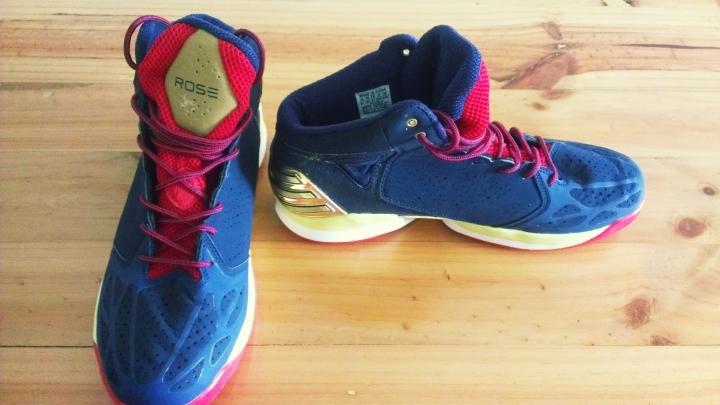 Adidas D-Rose (Gold)