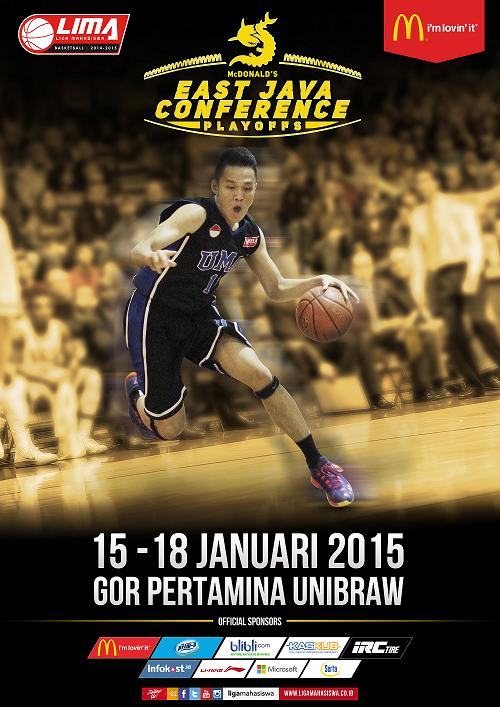 LIMA Basket playoff McDonald East Java Conference