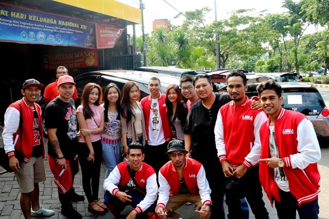 Yoga Hidayat saat di Final LIMA Basketball Final Surabaya bersama Stweetball