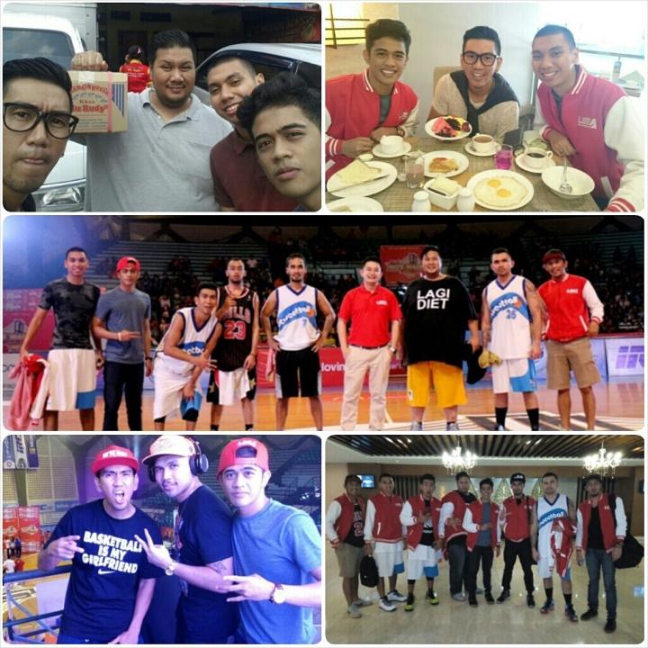 Yoga Hidayat saat di Final LIMA Basketball Final Surabaya