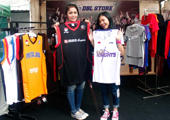 Jersey Resmi NBL Indonesia