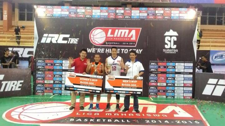LIMA Basketball IRC Tire Sumatera Conference_MVP