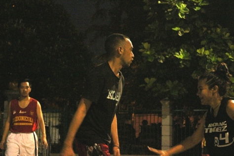 Aksi Rico Haleluya di Stweetball