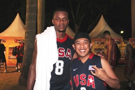 Demonte Flannigan saat bersama ngobrolbasket di FIBA 3x3 U18 Jakarta