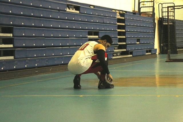 Gerri Primacitra saat bermain di Ghostz Basketball Community