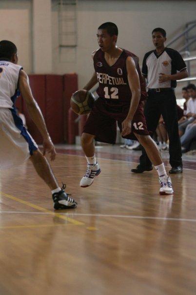 Rocky Padila mendapatkan beasiswa main di Perpetual Help University di Manila