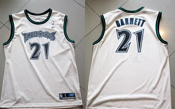 Reebok Minnesota Timberwolves Kevin Garnett jersey