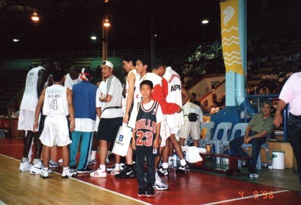 Rocky Padila saat menonton Aspac di kejuaraan asia tahun 96