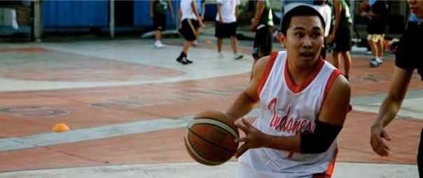 DQ saat bermain basket