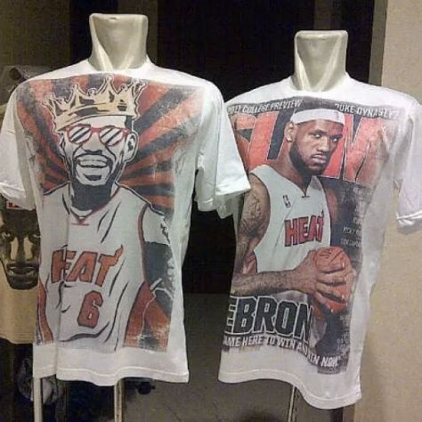 T-Shirt NBA, King James