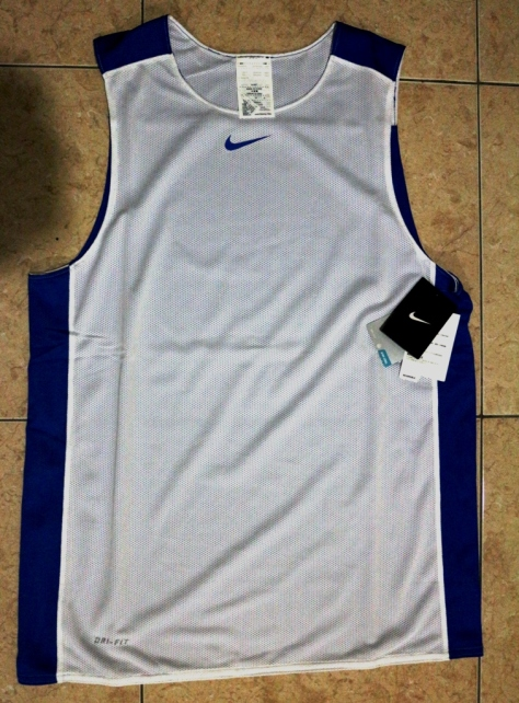 NIKE League Reversible Tank Men's Basketball Jersey (Tampak Depan)