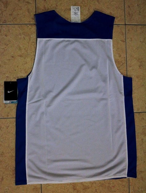 NIKE League Reversible Tank Men's Basketball Jersey (Tampak Belakang)