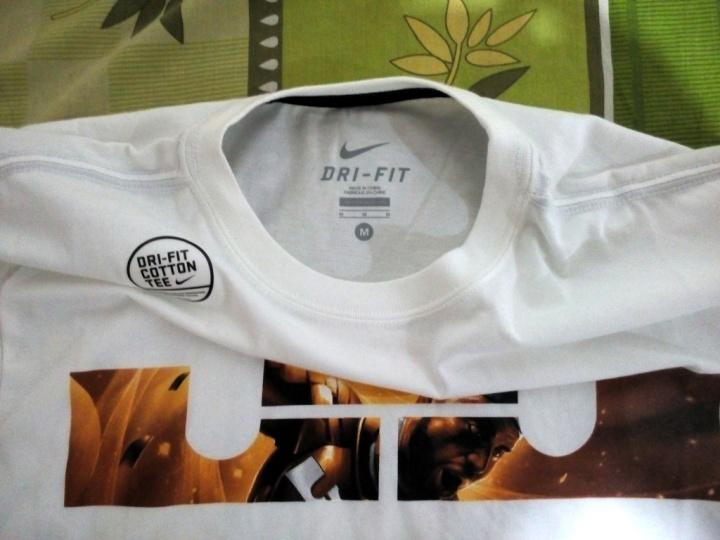 T-Shirt AS Lebron LOGO Tee (Original) Dri-Fit Cotton Tee Size M