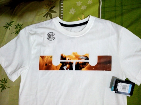 T-Shirt AS Lebron LOGO Tee (Original) Dri-Fit Cotton Tee Harga normal 299.000