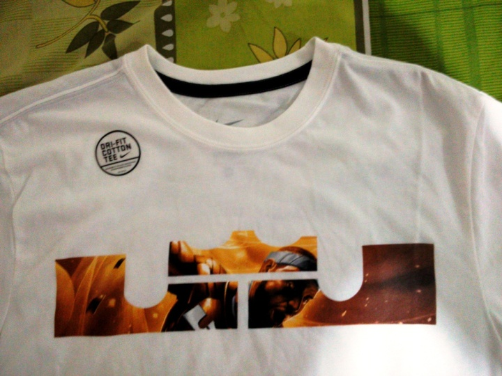 T-Shirt AS Lebron LOGO Tee (Original) Dri-Fit Cotton Tee