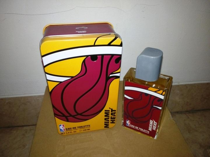 NBA Miami Heat Metallic Box EDT 100 ml