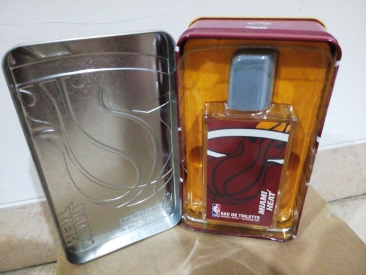 NBA Miami Heat Metallic Box EDT 100 ml