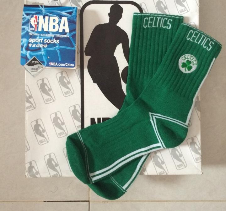 celtics nba team socks