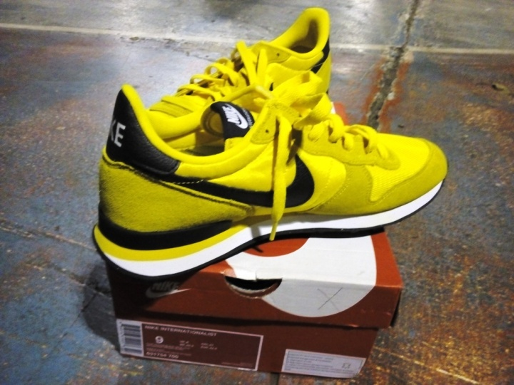 Nike Internationalist Seri Bruce Lee samping dan kode barang