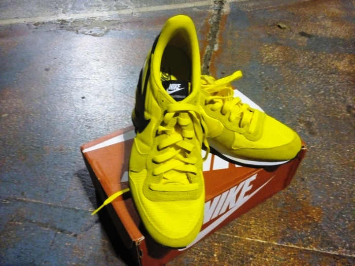 Nike Internationalist Seri Bruce Lee tampak atas