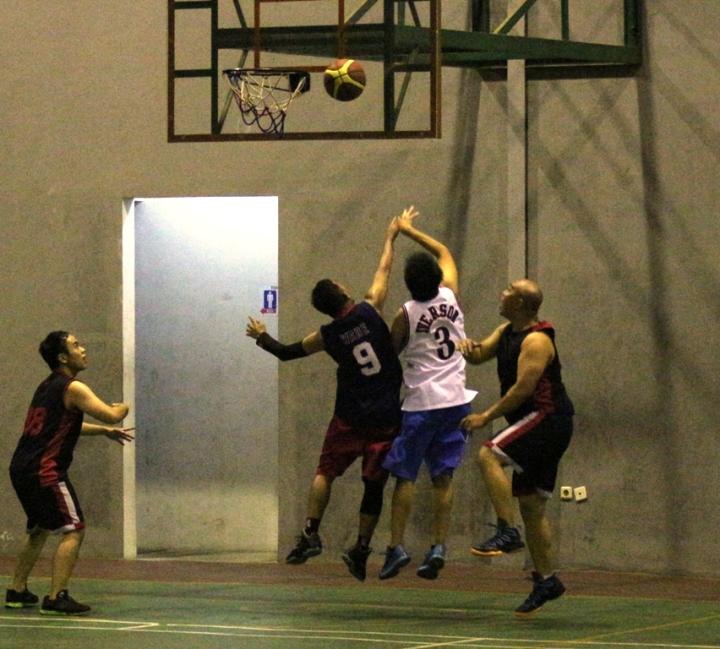 Nike Lebron11 digunakan saat melompat