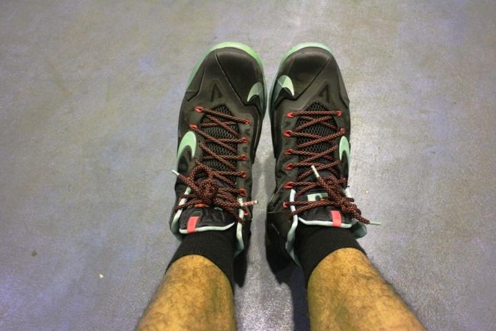 Nike Lebron11 Tampak Atas