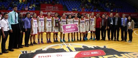 Team WNBL Sahabat Sejati menggunakan Jersey produksi dari Injers