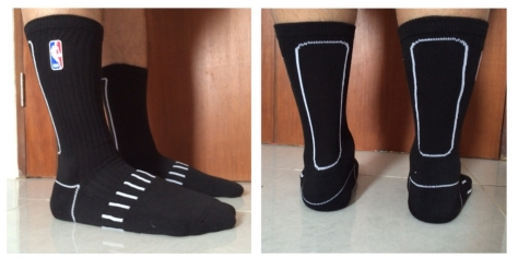 NBA socks line