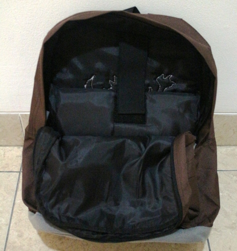 Tas Backpack by Injers, terdapat tempat laptop