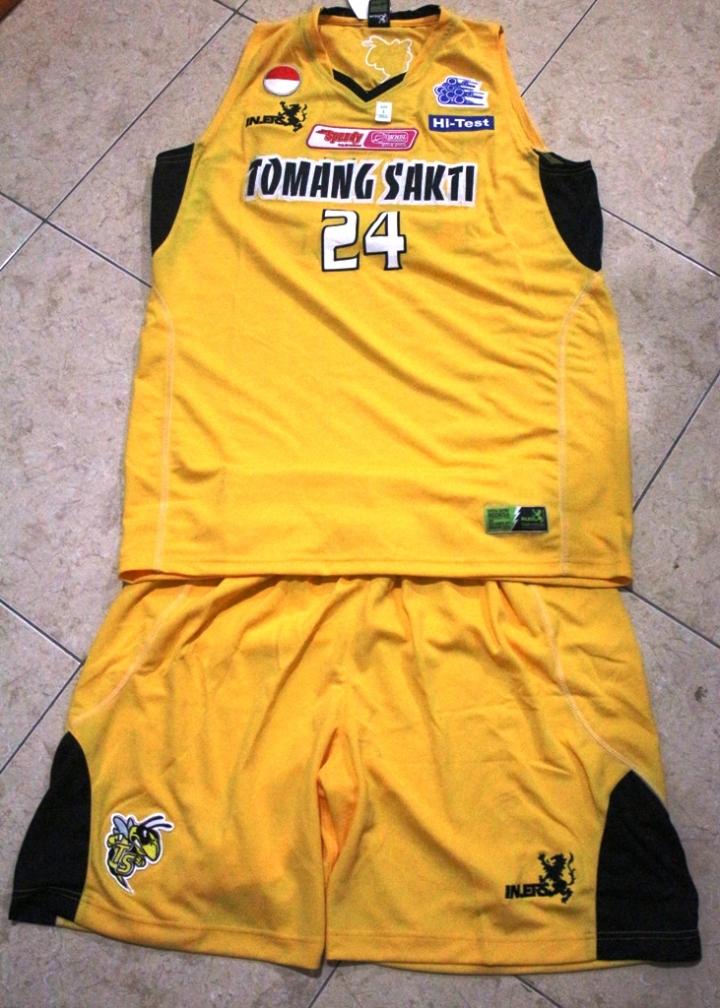 Jersey Jacklin Ibo Warna Kuning Tampak depan
