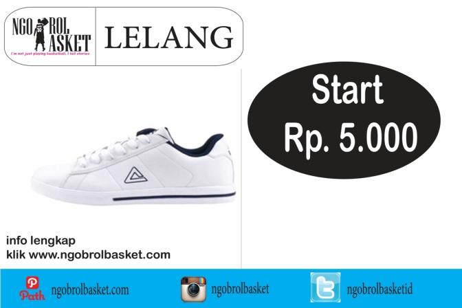 PEAK Casual R03557B (Original): Lelang Rp. 5.000,-