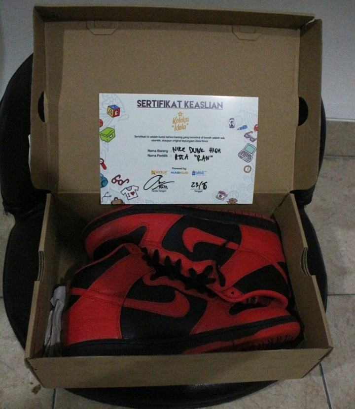 Nike Dunk High ex Asta RAN