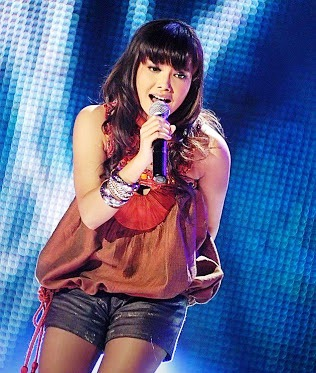 Ibeth Idol saat di Indonesia Idol 2008