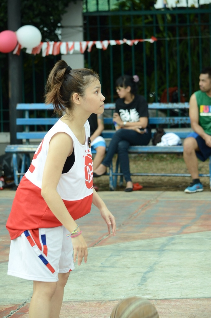Ibeth Idol sangan mencintai olah raga basket