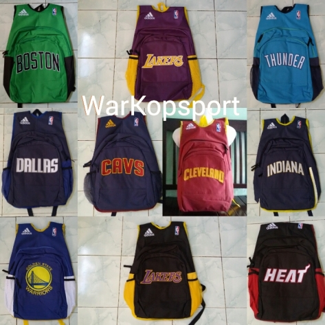 Tas Backpack NBA ada di Warkop Sport