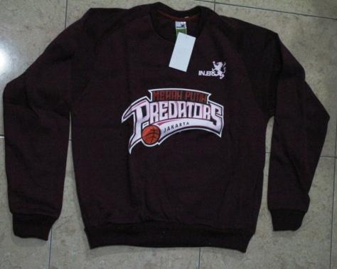 Sweater Merah Putih Predator harga Rp. 120.000,-