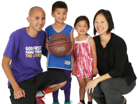 Collin Tjin with family (pic by parentingoc.com)