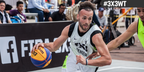 Derek Griffin tops all scorers at FIBA #3x3WT Mexico DF Masters.