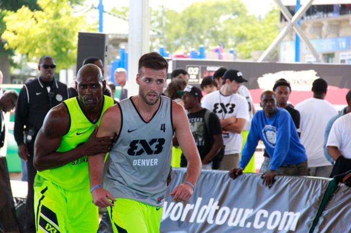 Griffin Represents Nuggets, Denver at 3x3 World Tour Final