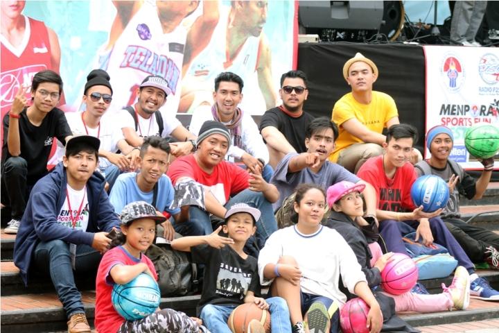 ngobrolbasket bersama freestyler dari Jabodetabek dan Jogjakarta