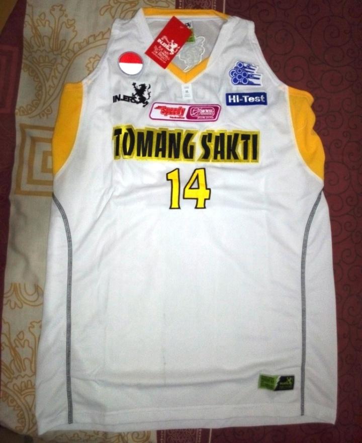Jersey Wulan pemain pro dari Tomang Sakti Jakarta
