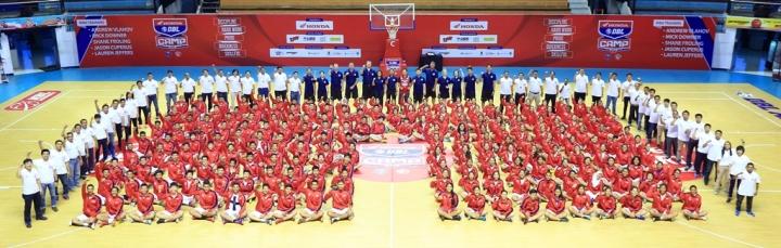Opening Ceremony Honda DBL Camp 2015 di DBL Arena Surabaya