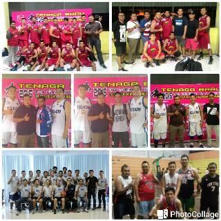 Bimo Bersama dengan komunitas basketnya di Pontianak