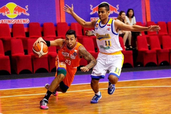Brendan Jawato drive Pelita Jaya