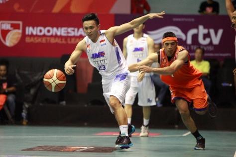 Gian Gumilar (23) Kapten JNE Bandung Utama