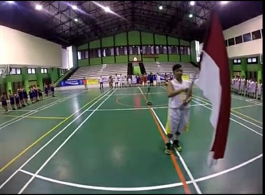 Opening Kompetisi Bola Basket Perbasi Jakarta Barat 2016