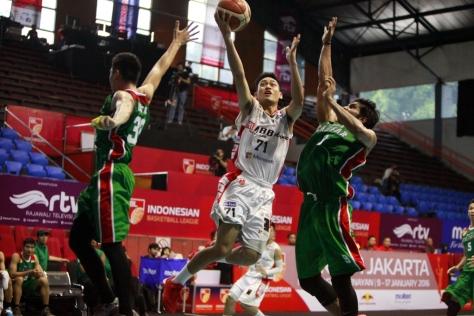 Rookie M88 Aspac jakarta Widyantaputra Teja (point guard)- Dokumentasi IBL